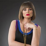 """Victoria Camacho, como Monserrat Moret en """"Pasión y Poder"""""""
