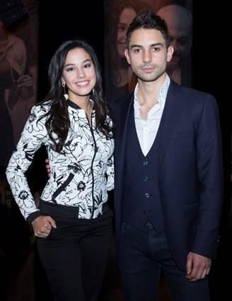 Los actores Ana María Estupiñán y Sebastián Eslava son los protagonistas de La Niña.