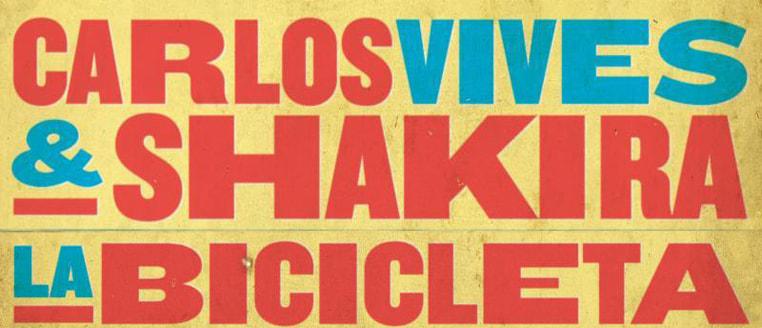 """""""La Bicicleta"""" de Carlos Vives y Shakira debutó de #1 streaming y descargas en 16 países"""